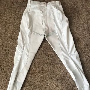 Used, white FITS full seat, button up, large